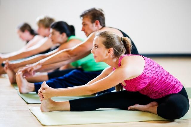 Academia de Yoga para iniciantes