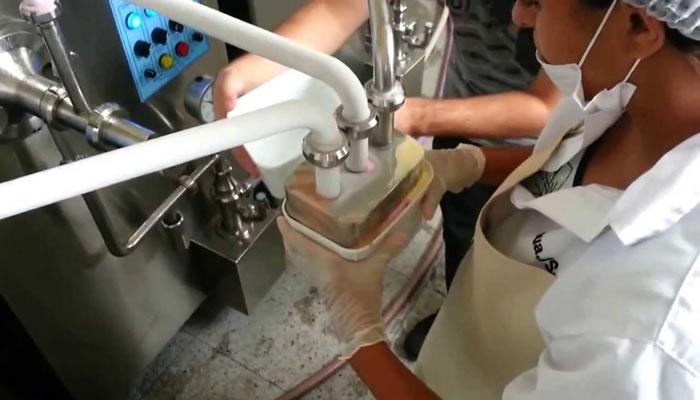 Máquina de fazer sorvetes