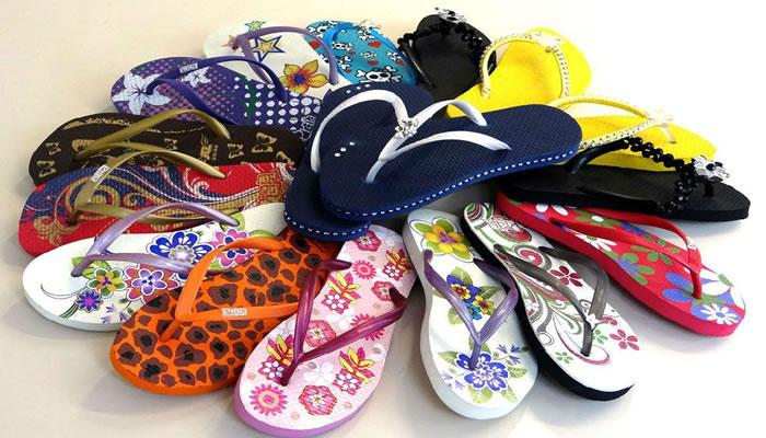 Como abrir uma fábrica de chinelos personalizados