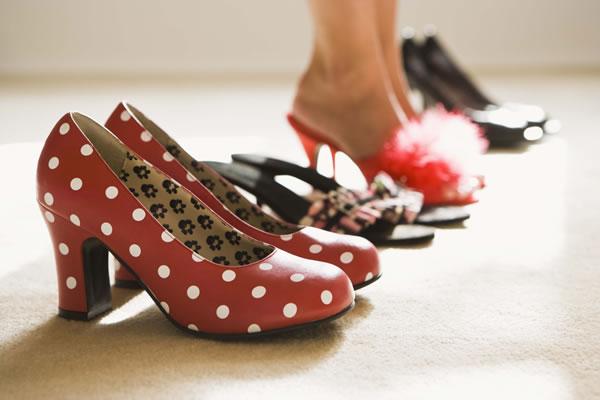 Franquia de sapatos femininos