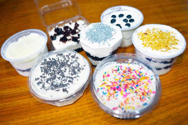 Como fazer bolo no pote