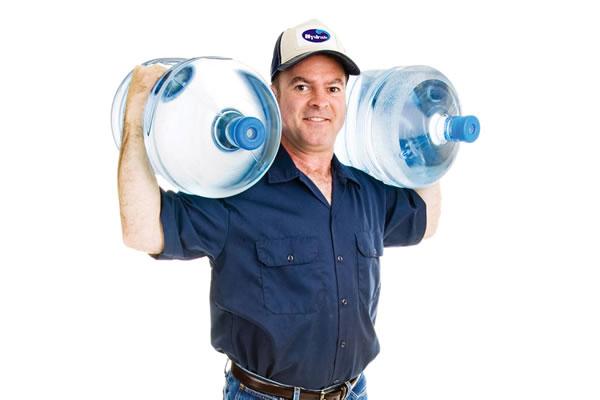 Disk entrega água mineral