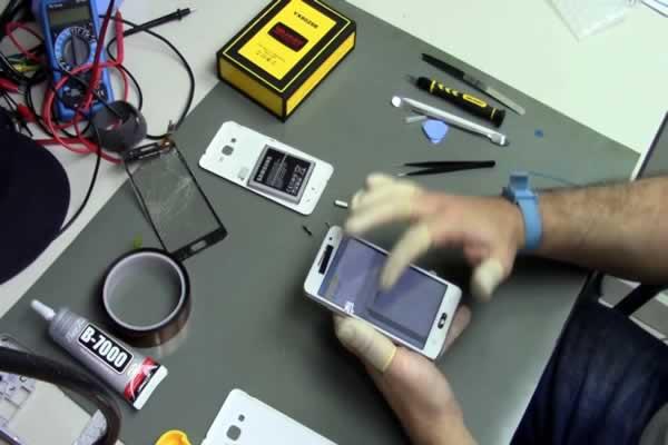 Distribuidora de peças para celular