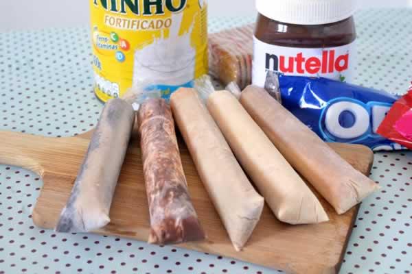 embalagem para geladinho