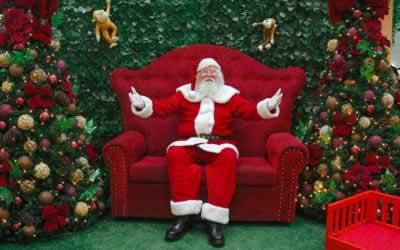 Trabalhar como Papai Noel